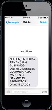 envio de mensajes sms