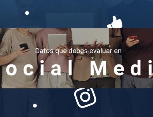 Datos que debes evaluar en social media
